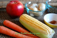Burdock and Lily Bulbs Soup- Yes to Cooking