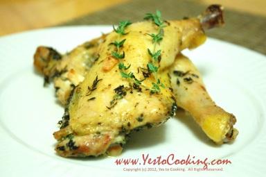 Thyme Garlic Chicken- Final