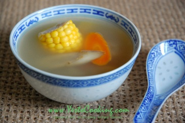 Burdock and Lily Bulbs Soup