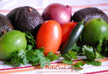 Chunky Guacamole- Yes to Cooking