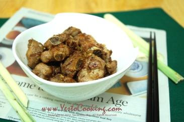 Final- Lemongrass Pork Spare Ribs, Yes to Cooking