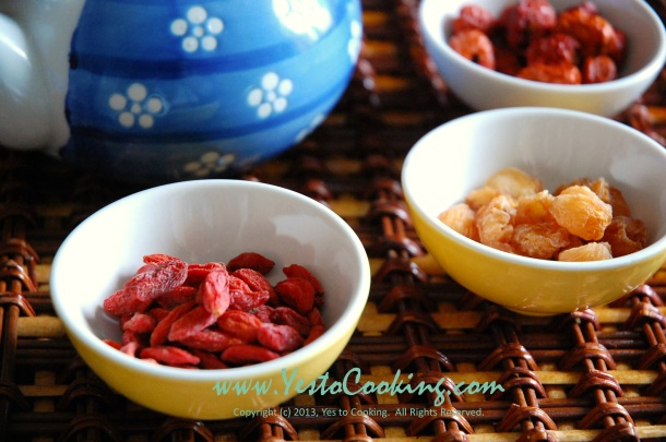 Longan, Red Dates & Goji Berry Sweet Tea