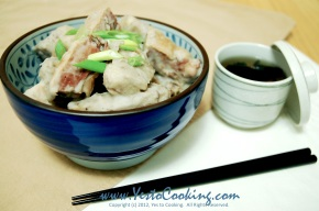 Stewed Preserved Duck with Taro in CoconutMilk