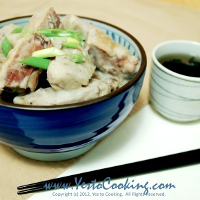 Stewed Preserved Duck with Taro in Coconut Milk
