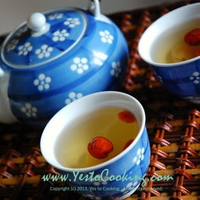 Goji Berry, Red Dates, and Longan SweetTea