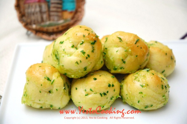 Italian Garlic Knots- Yes to Cooking
