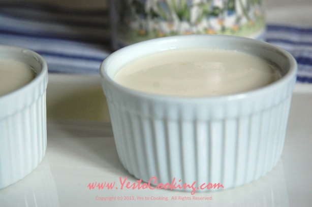 Ginger Milk Pudding (薑汁撞奶)- Yes to Cooking