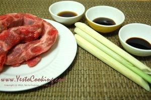 Ingredients- Lemongrass Pork Spare Ribs, Yes to Cooking