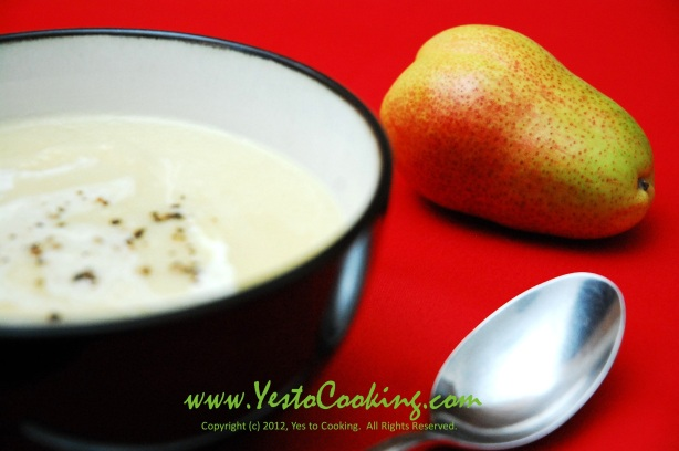 Parsnip with Anjou Pear and Leek Soup- Yes to Cooking
