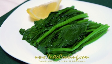 Simple Spinach Side Dish- Yes to Cooking