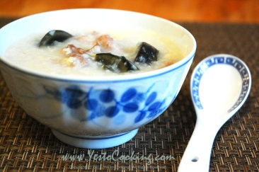 Final- Congee with Preserved Egg and Salted Pork
