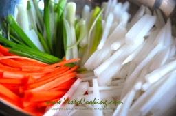 Quick Napa Cabbage Kimchi