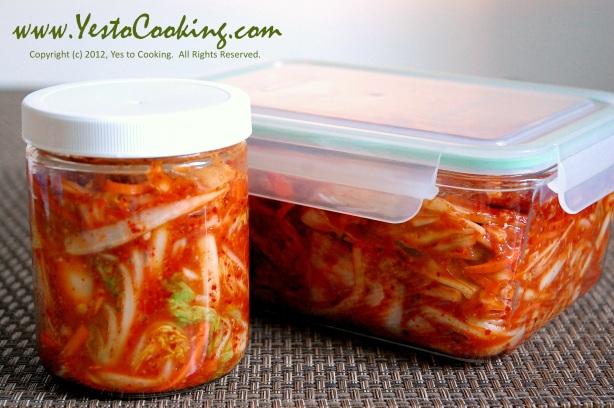 Easy Napa Cabbage Kimchi