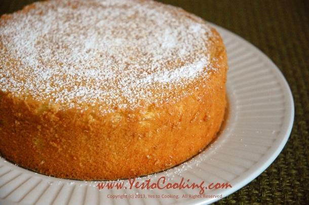 Basic Sponge Cake- Yes to Cooking