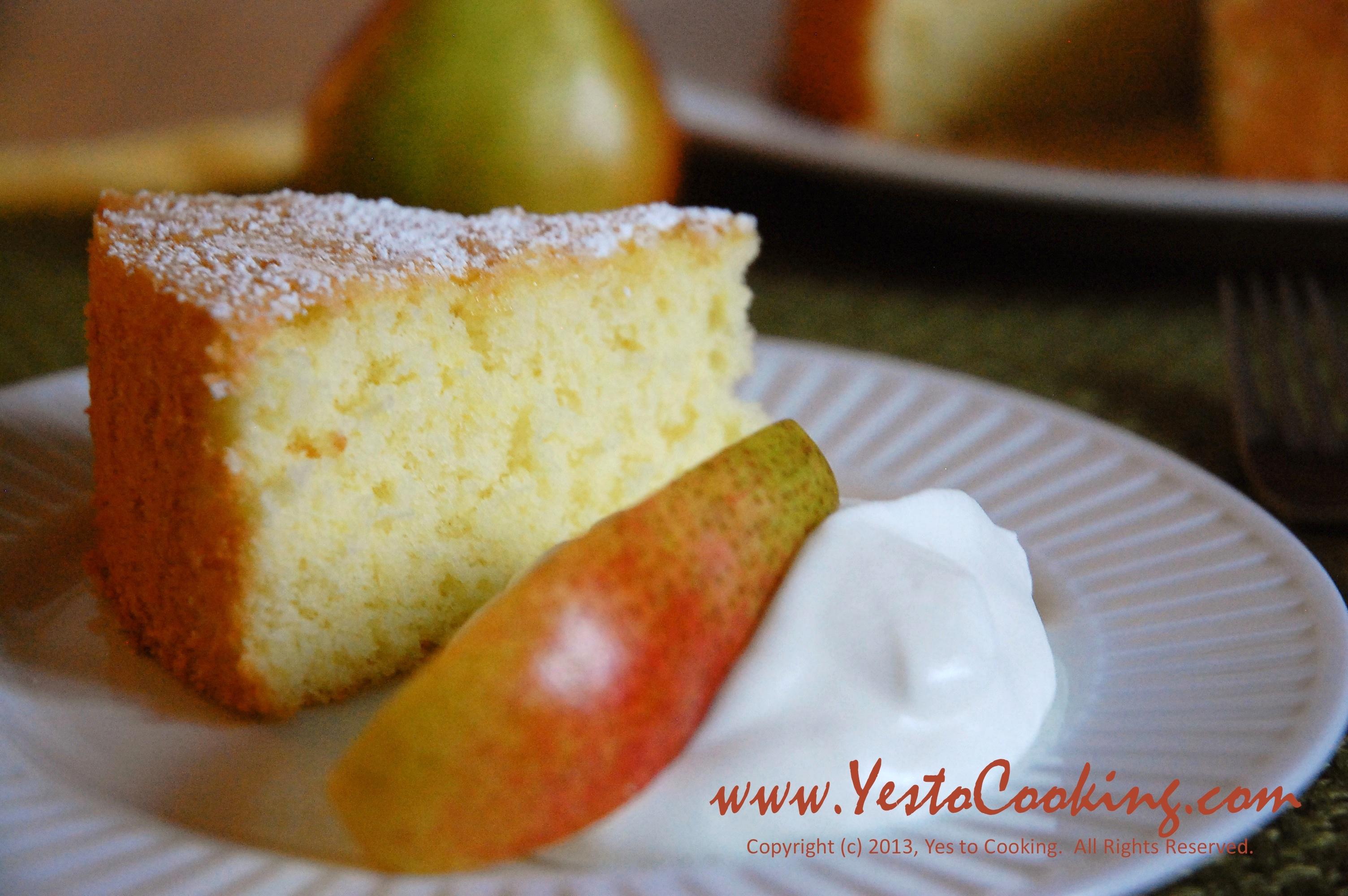 Basics Vanilla Sponge Cake Yes To Cooking