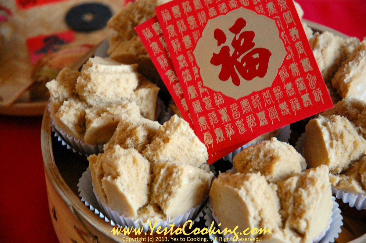 Lunar New Year Steamed Prosperity Cakes