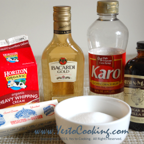 Basics: Rum CaramelSauce