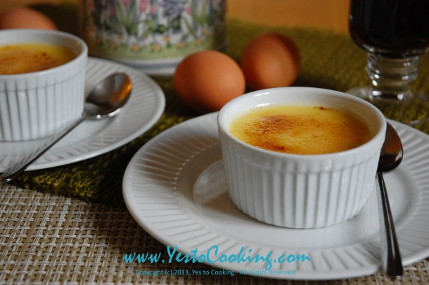 Creme Brulee- Yes to Cooking