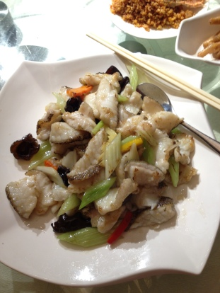 Fish Fillet and Seasonal Vegetable Stir Fry