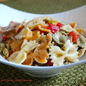 Parmesan Cheese Pasta Salad in Olive Oil