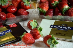 Chocolate Covered Strawberries, Ingredients- Yes to Cooking