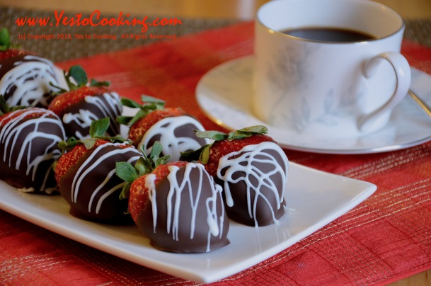 Chocolate Covered Strawberries- Yes to Cooking