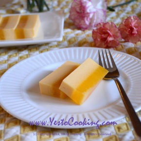 Layered Mango JellyDessert