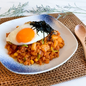 Kkakdugi Fried Rice – Korean Cubed Radish Kimchi Fried Rice